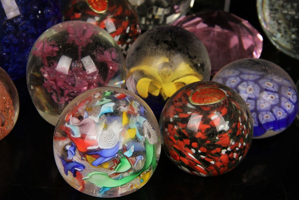 Collection of 25 Glass Paperweights - 2