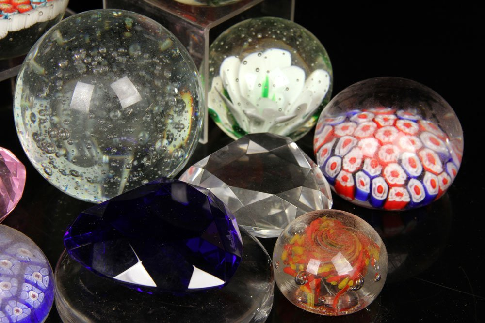 Collection of 25 Glass Paperweights - 3