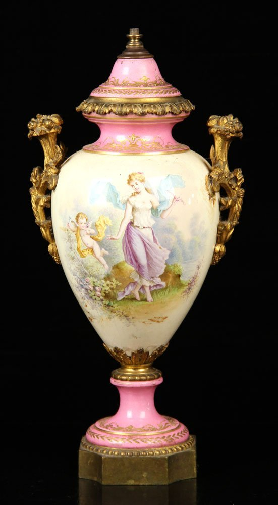 Sevres Porcelain Urn