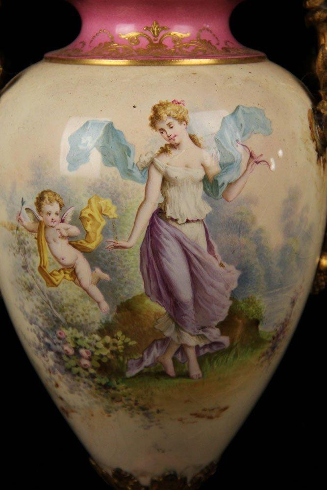 Sevres Porcelain Urn - 2