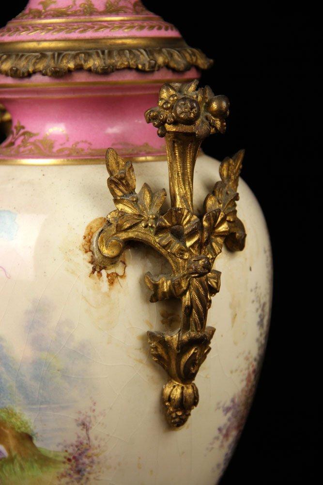 Sevres Porcelain Urn - 3