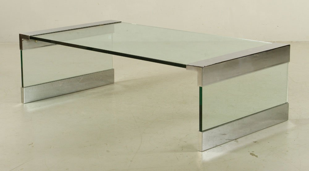 Leon Rosen for Pace Square Coffee Table