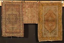 Three Semi Antique Anatolian Rugs