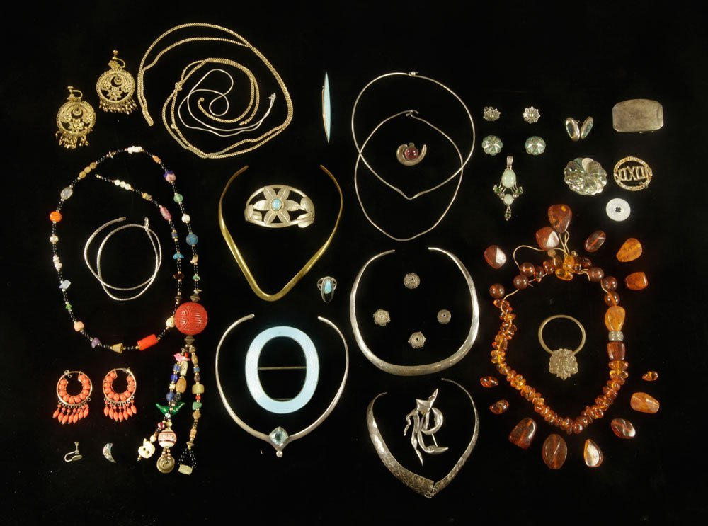 Lot of Sterling Silver and Costume Jewelry