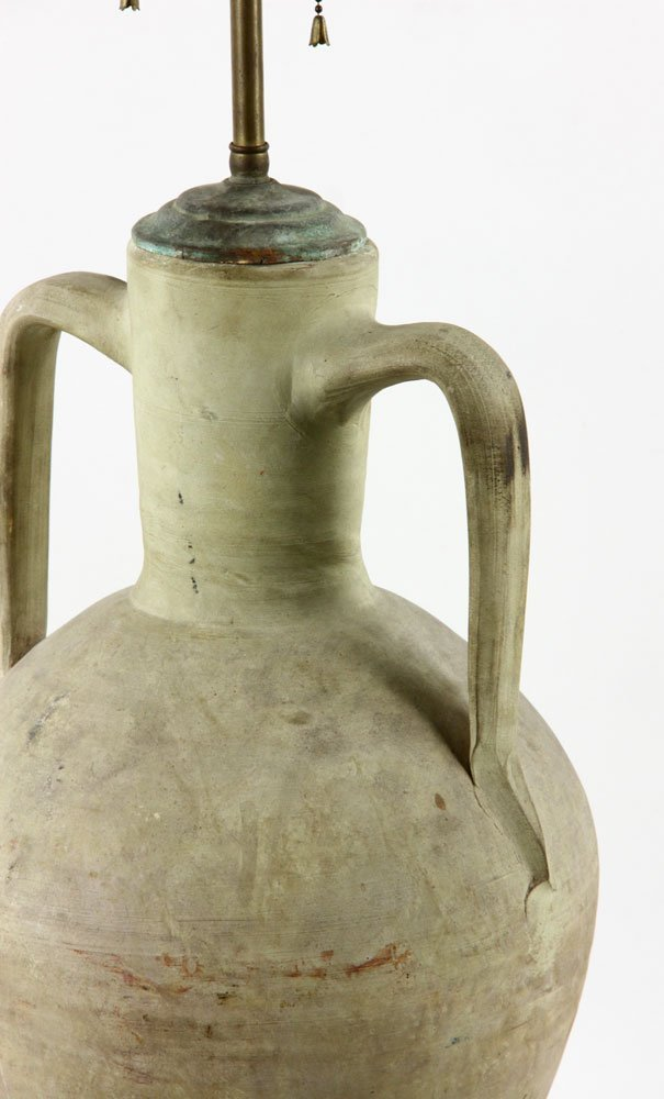 Urn Form Pottery Lamp - 4