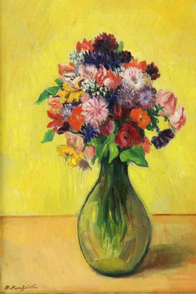 Karfiol (American, 1886-1952), Floral Still Life, Oil - 2