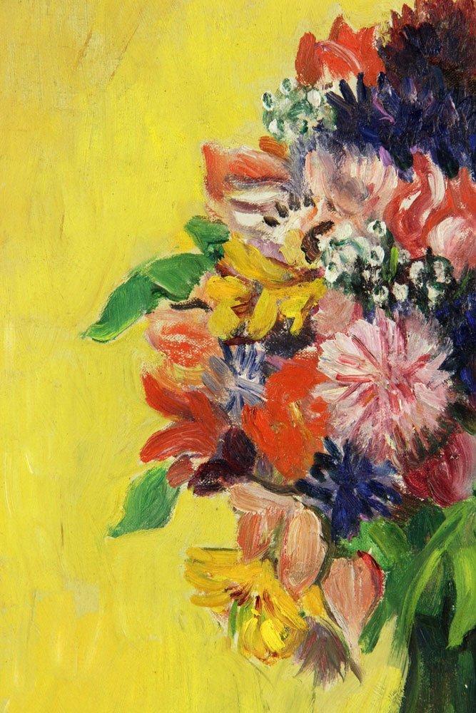 Karfiol (American, 1886-1952), Floral Still Life, Oil - 3