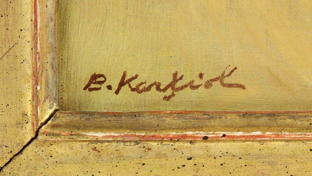 Karfiol (American, 1886-1952), Floral Still Life, Oil - 4
