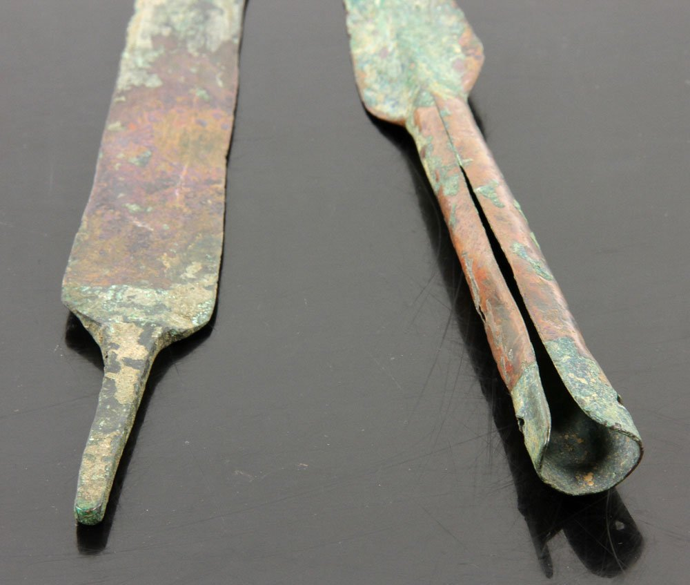 Two Ancient Middle Eastern Copper Weapons - 3