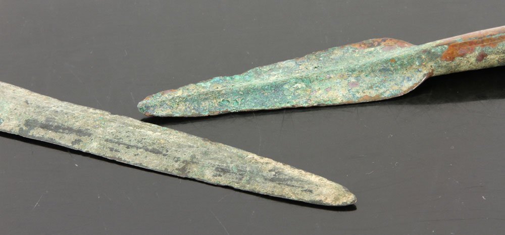 Two Ancient Middle Eastern Copper Weapons - 4