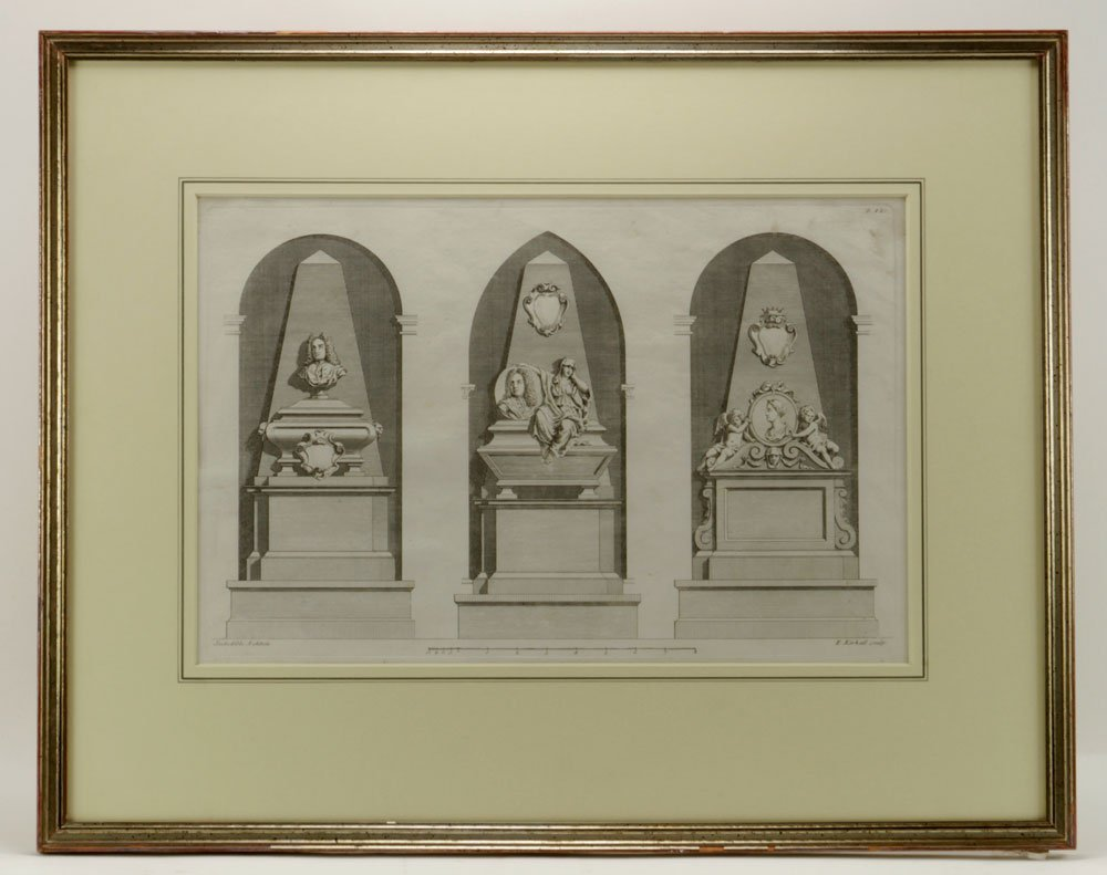 Gibbs, Four Classical Architectural Engravings - 2