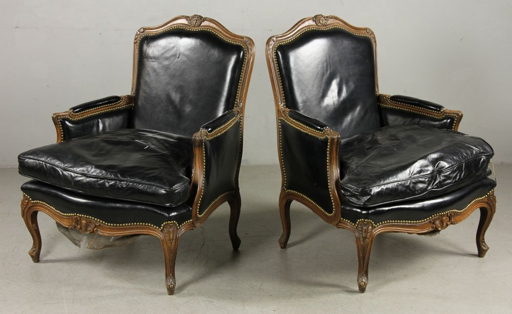 Pair Of Bergere Chairs - 2