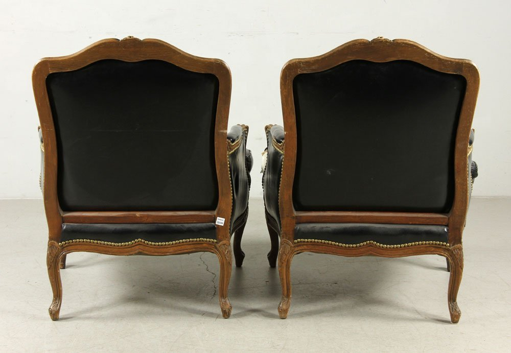 Pair Of Bergere Chairs - 3