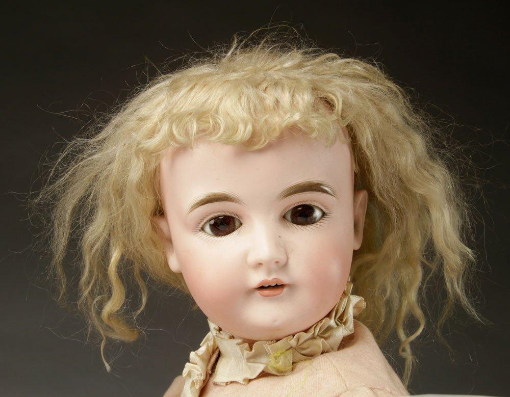 3 German Bisque Head Dolls - 2