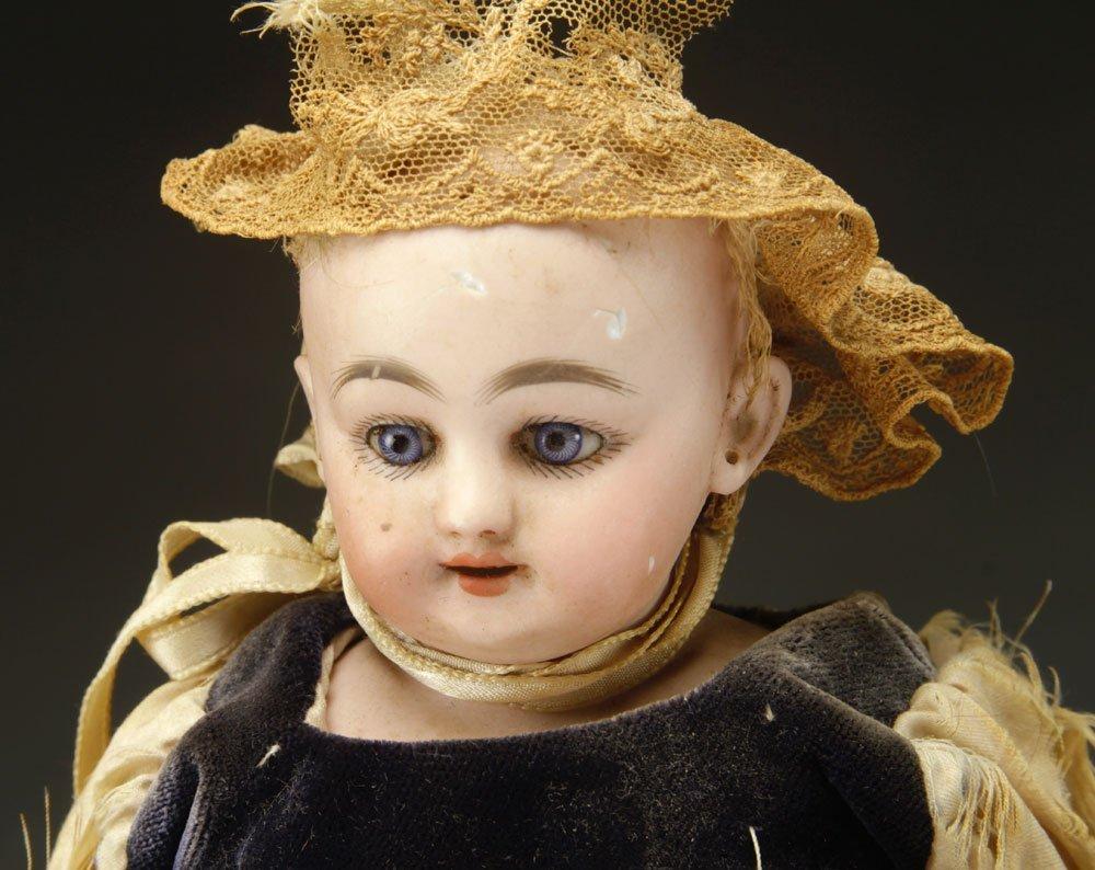3 German Bisque Head Dolls - 3