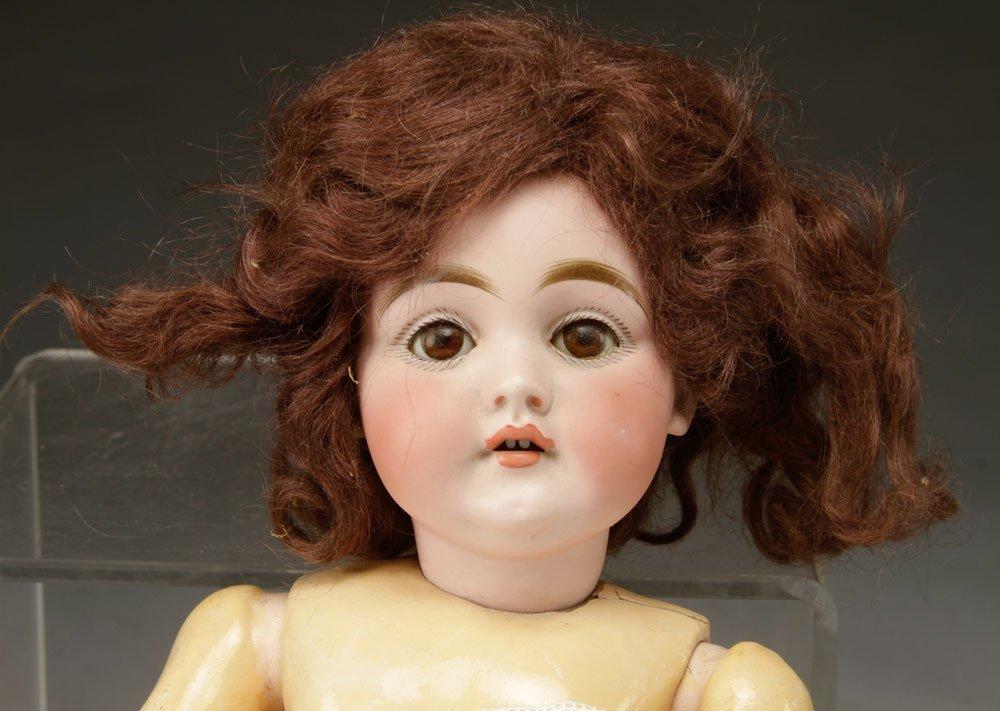 3 German Bisque Head Dolls - 4