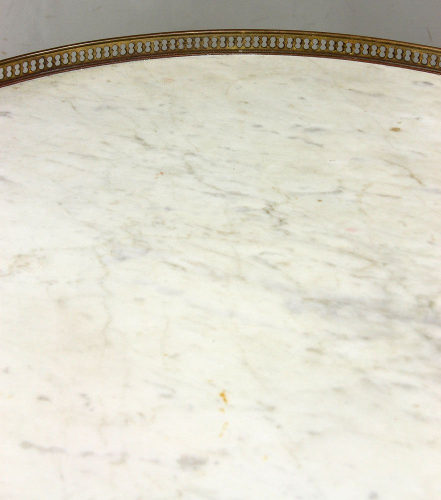 Pr. French Marble Top Tables - 9