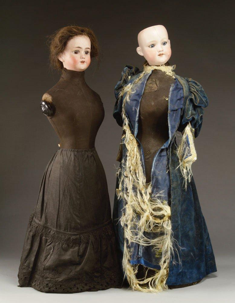 Two Simon & Halbig Mannequin Dolls