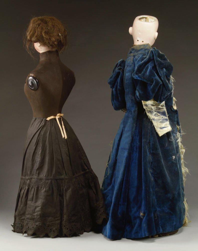 Two Simon & Halbig Mannequin Dolls - 2