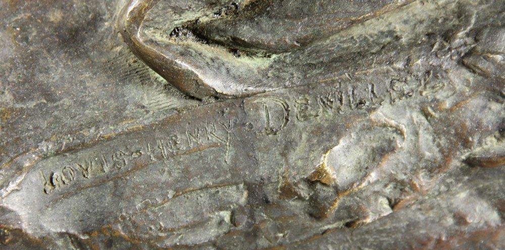 Devillez, Sculpture Of A Nude Bather, Bronze - 7