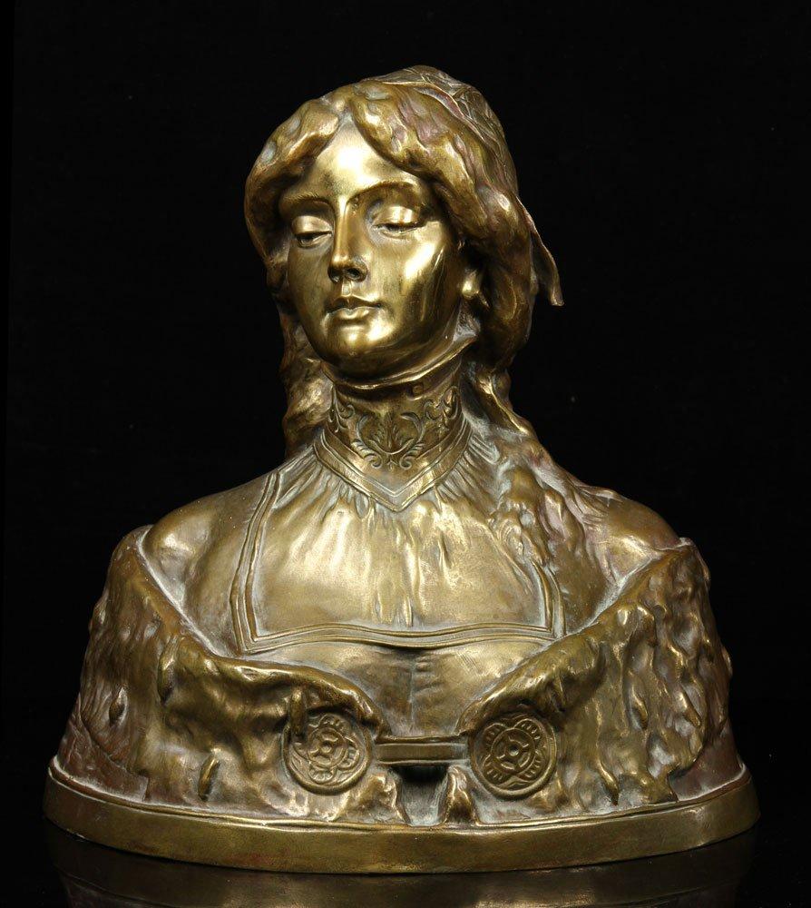 Leblanc, Sculpture of Desdemona, Bronze