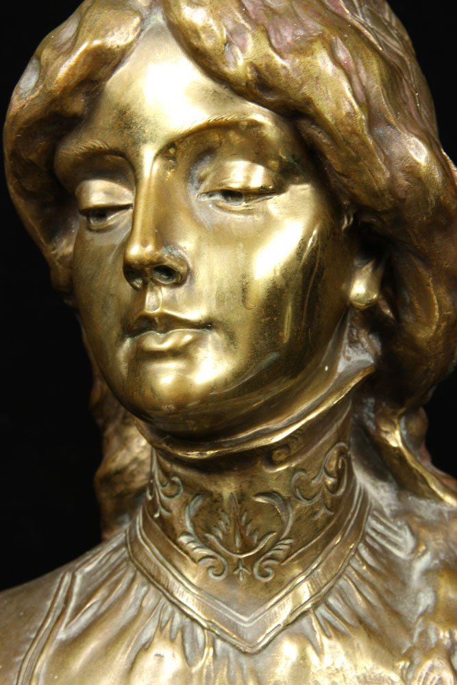 Leblanc, Sculpture of Desdemona, Bronze - 2
