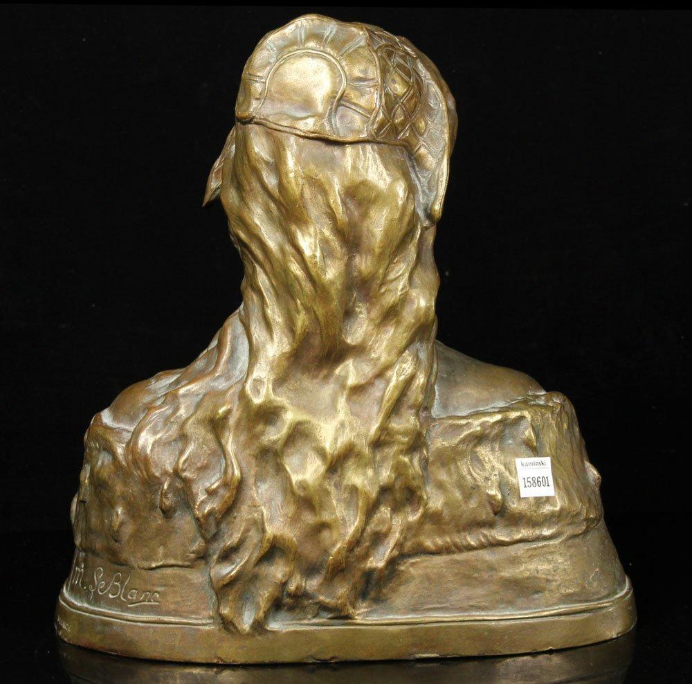 Leblanc, Sculpture of Desdemona, Bronze - 4