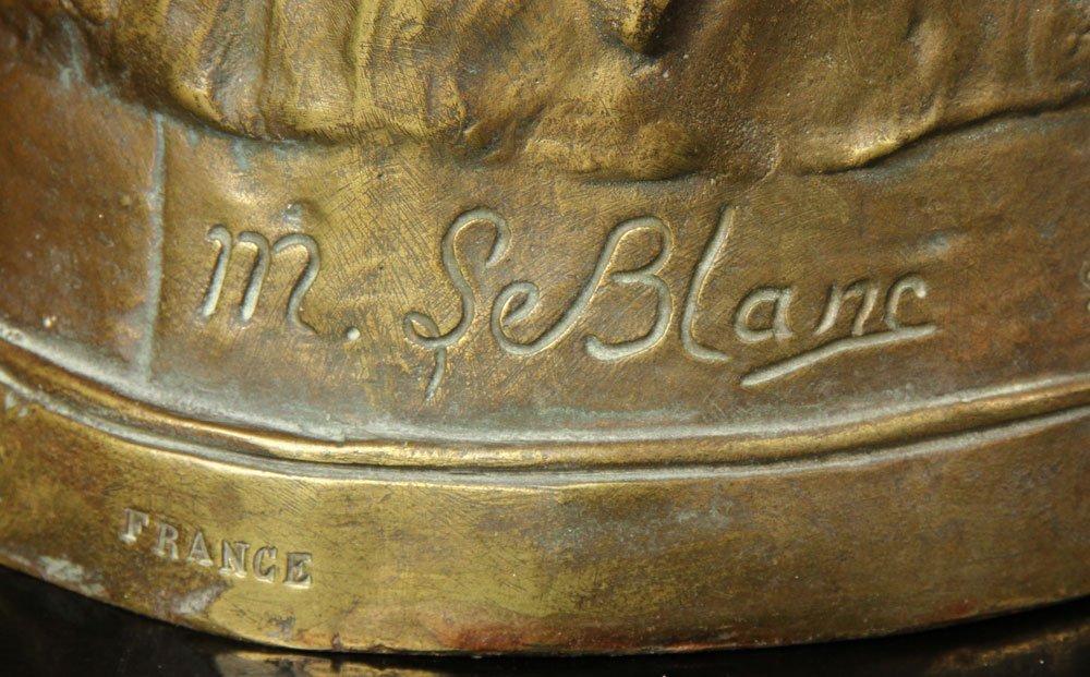 Leblanc, Sculpture of Desdemona, Bronze - 5