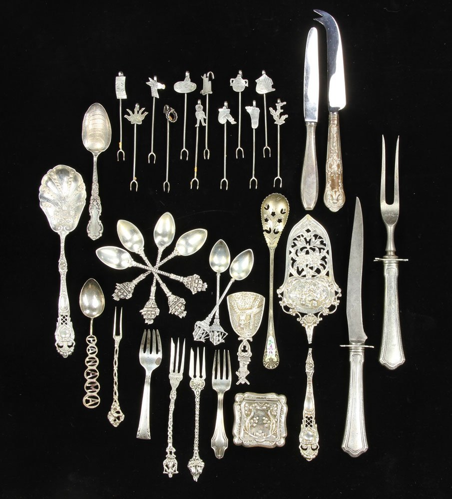 Lot of Assorted Sterling and .800 Silver
