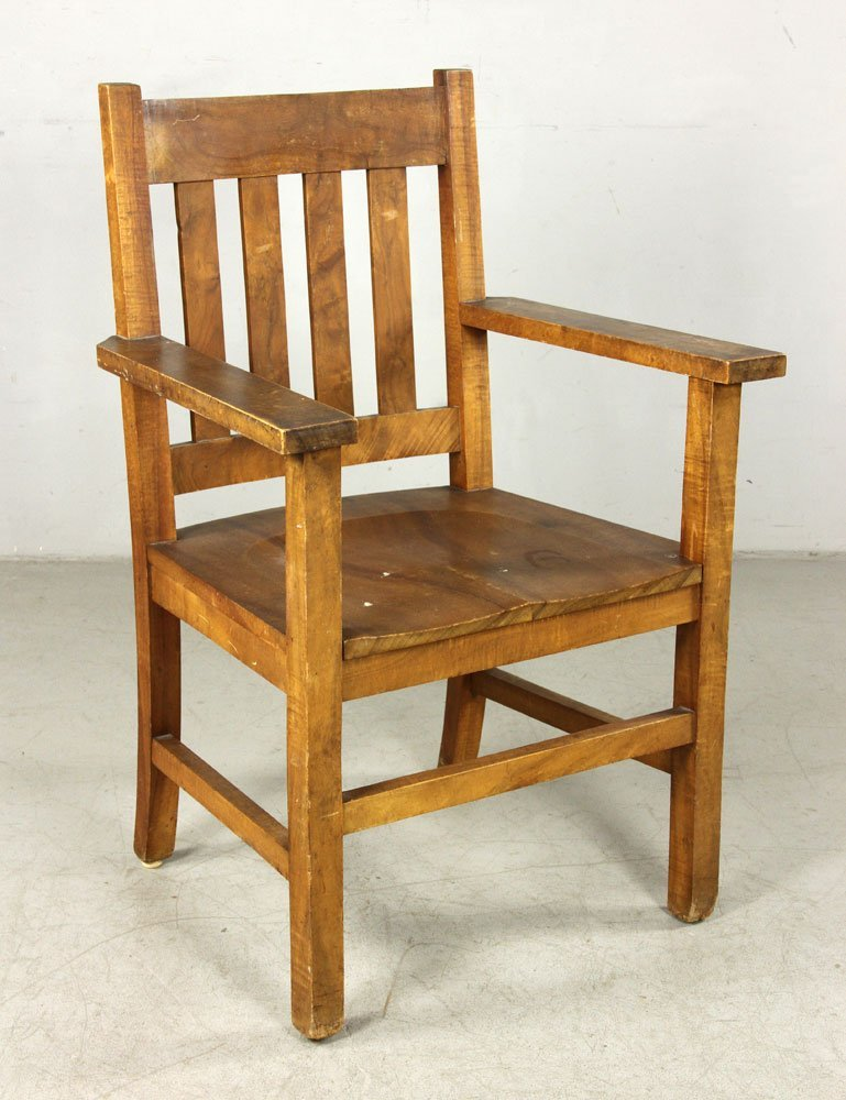 Late 19th/Early 20th C. Hawaiian Mission Armchair