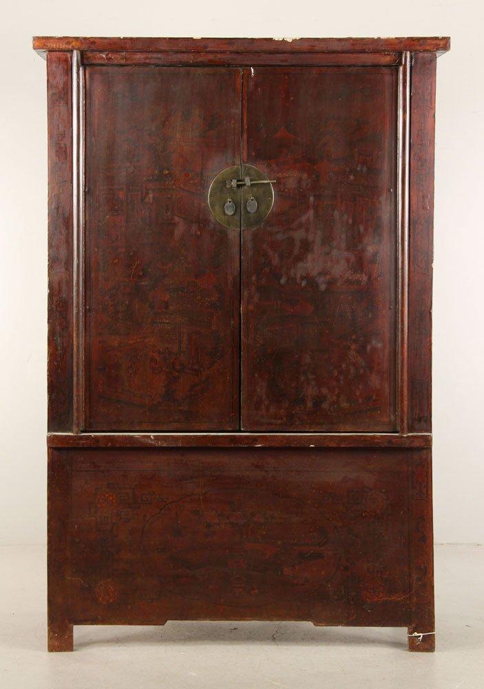 Japanese Two Door Cabinet