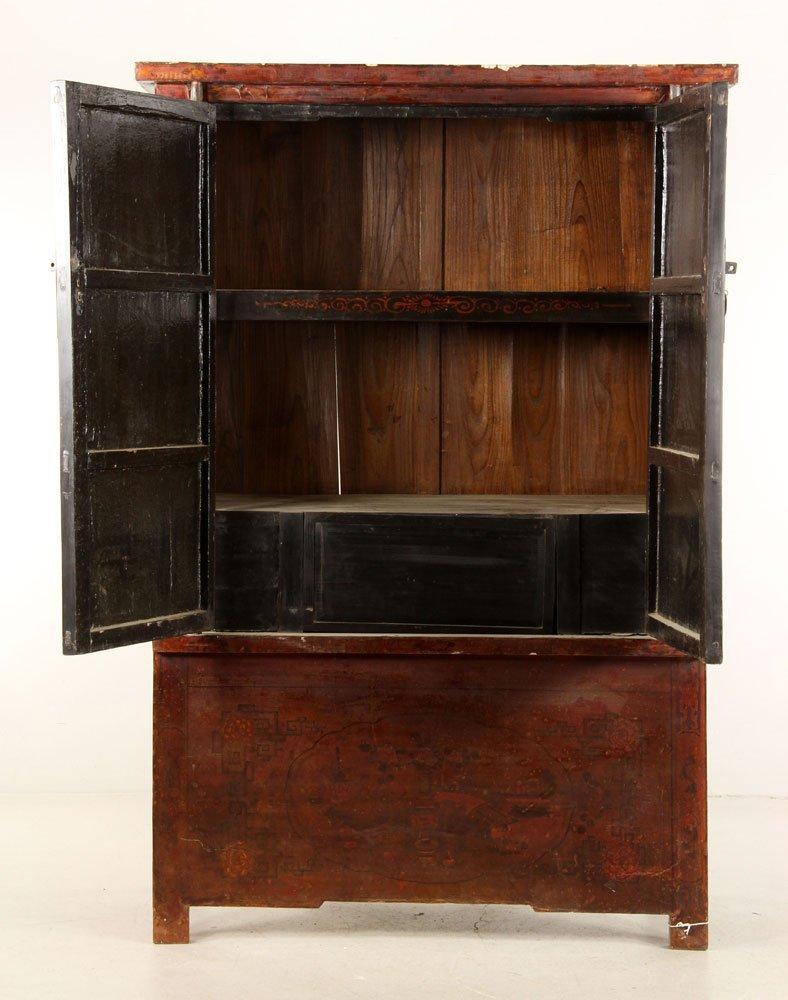 Japanese Two Door Cabinet - 2