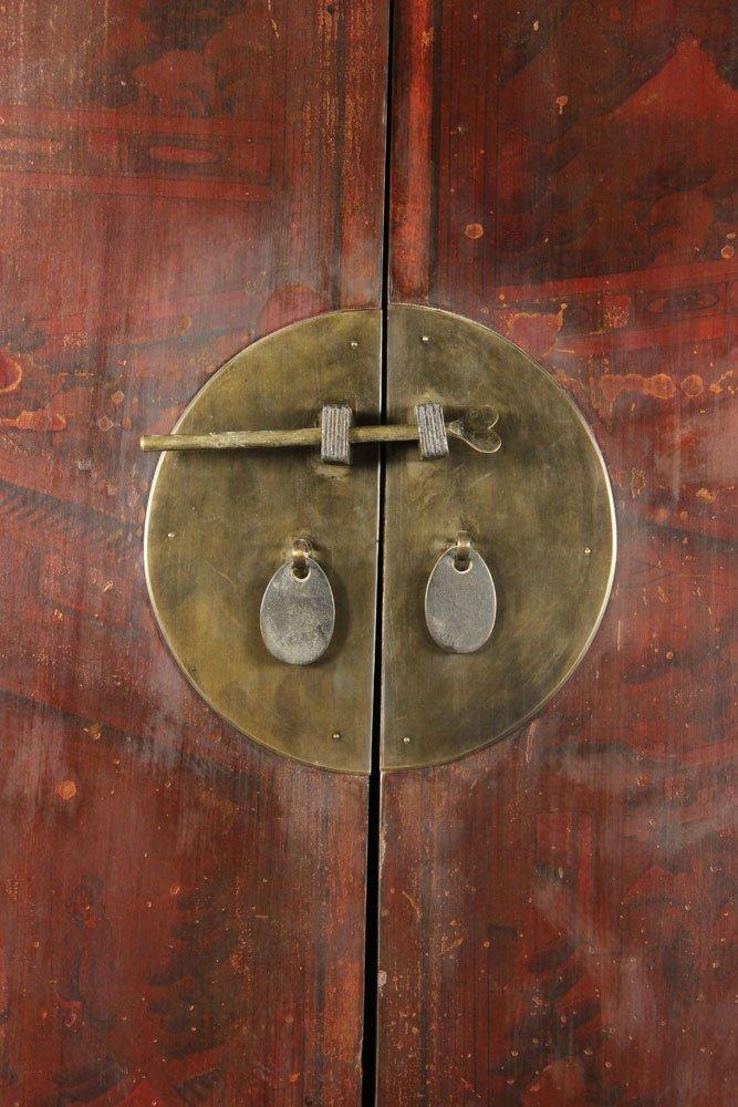 Japanese Two Door Cabinet - 3