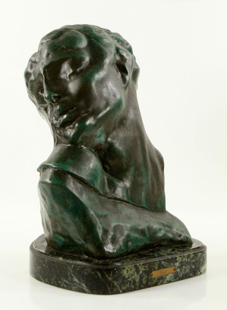Head of a Woman, Bronze