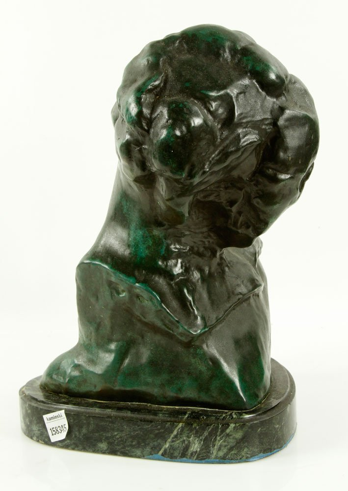 Head of a Woman, Bronze - 4