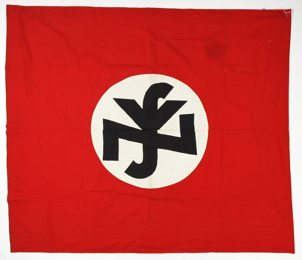 German National Socialist People's Welfare Banner