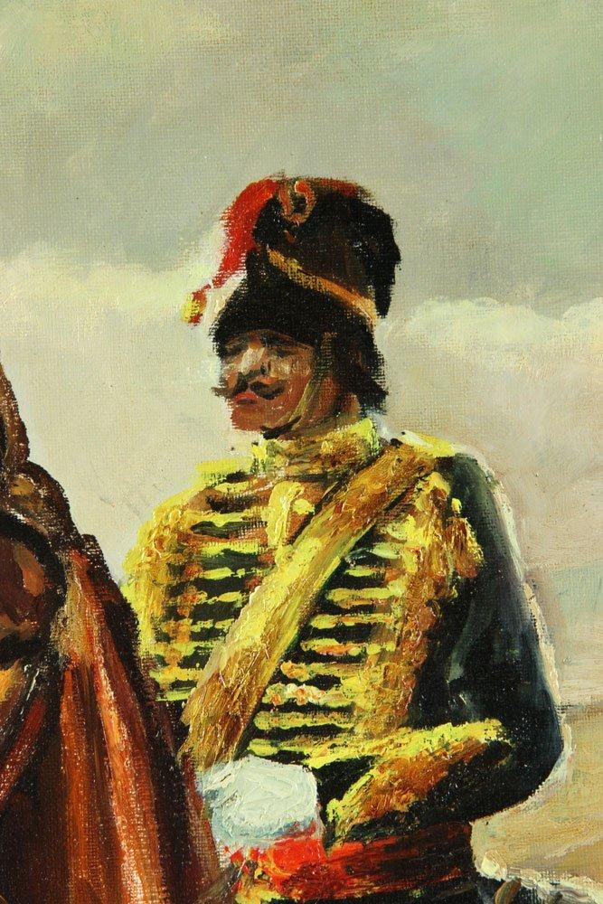 Van Doorn (Dutch), Cavalry On Horseback, Oil on Canvas - 3