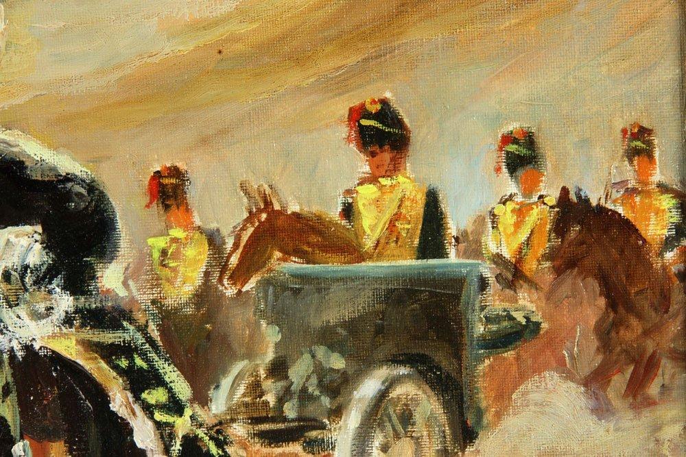 Van Doorn (Dutch), Cavalry On Horseback, Oil on Canvas - 4