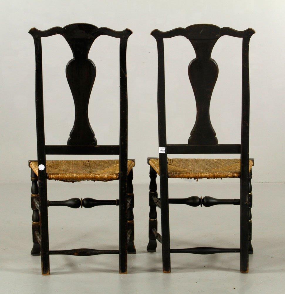 Pr. Queen Anne Side Chairs - 5