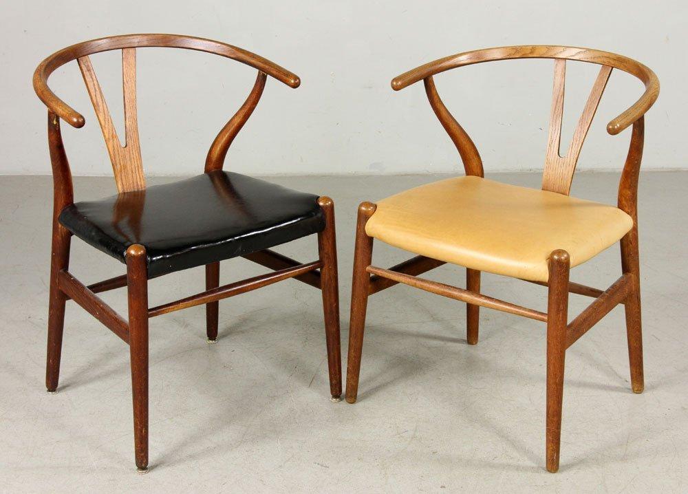 Six Hans Wegner Wishbone Chairs - 2