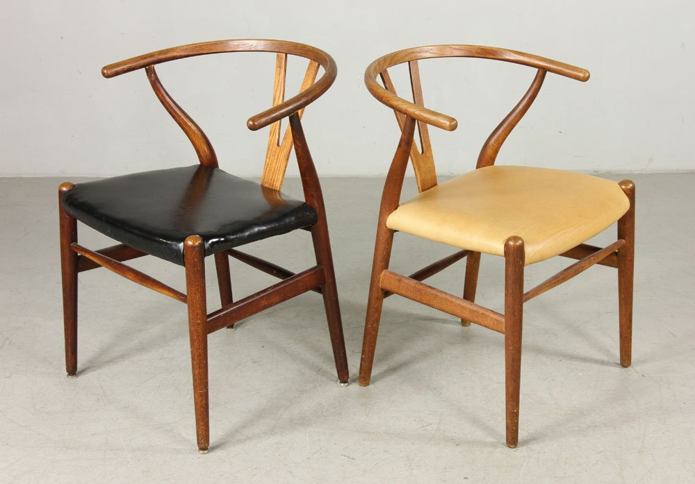 Six Hans Wegner Wishbone Chairs - 3