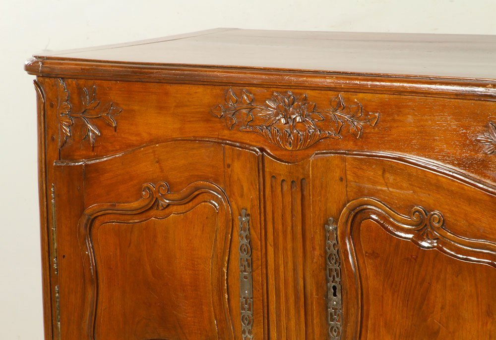 French Carved Cabinet - 2