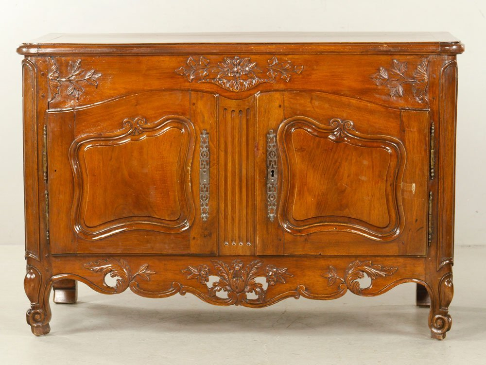 French Carved Cabinet - 5