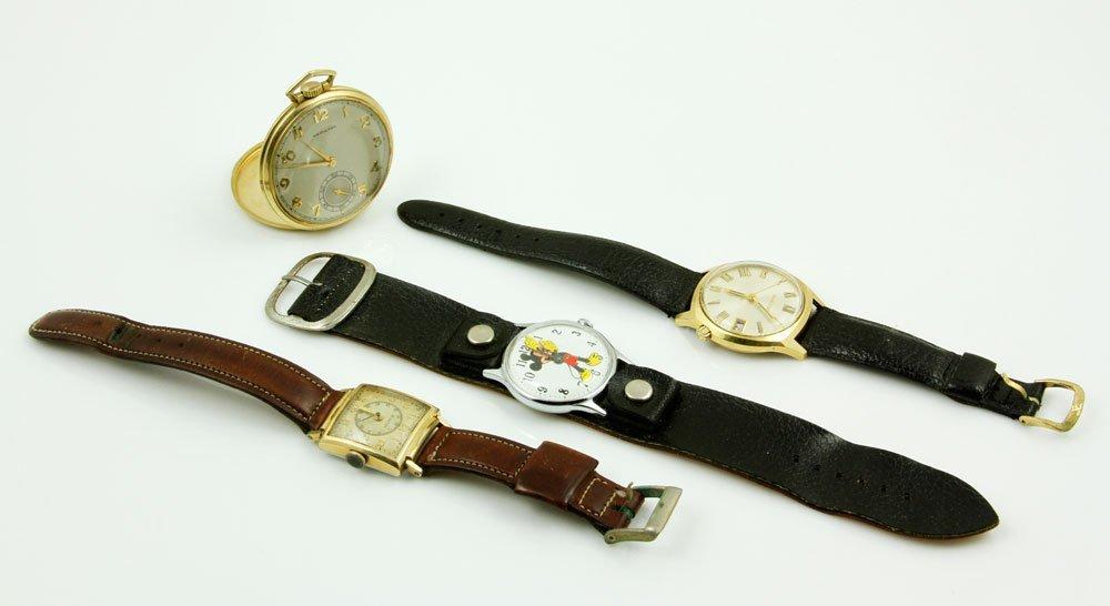 4 Vintage Watches