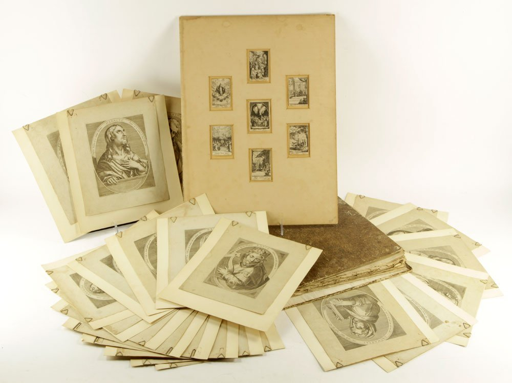 Lot of Old Master Etchings and Engravings