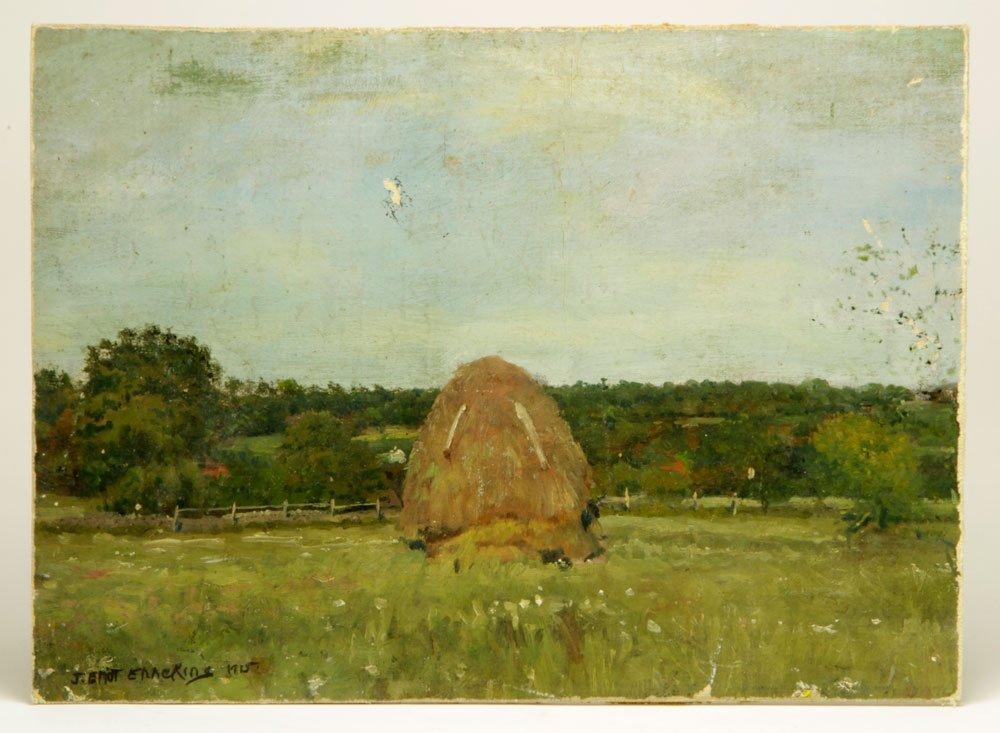 Enneking, Haystack, Oil on Canvas