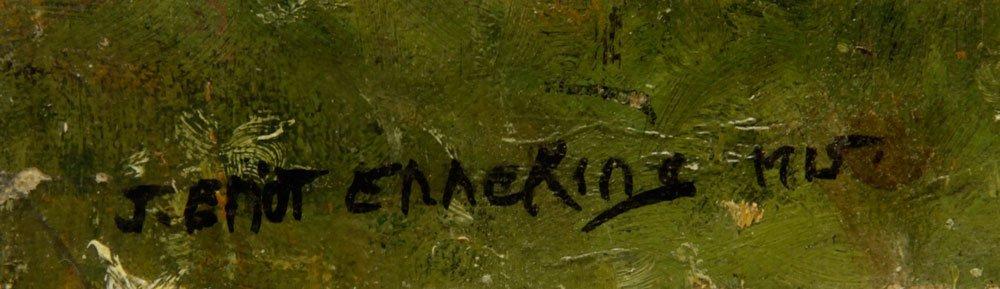 Enneking, Haystack, Oil on Canvas - 4