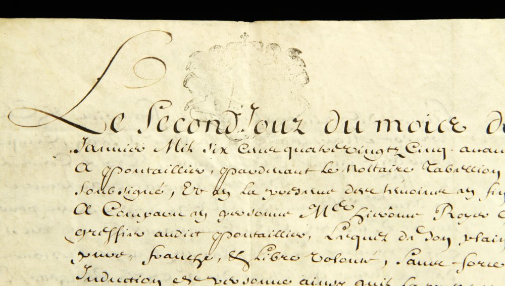 Lot of Early French Documents - 10