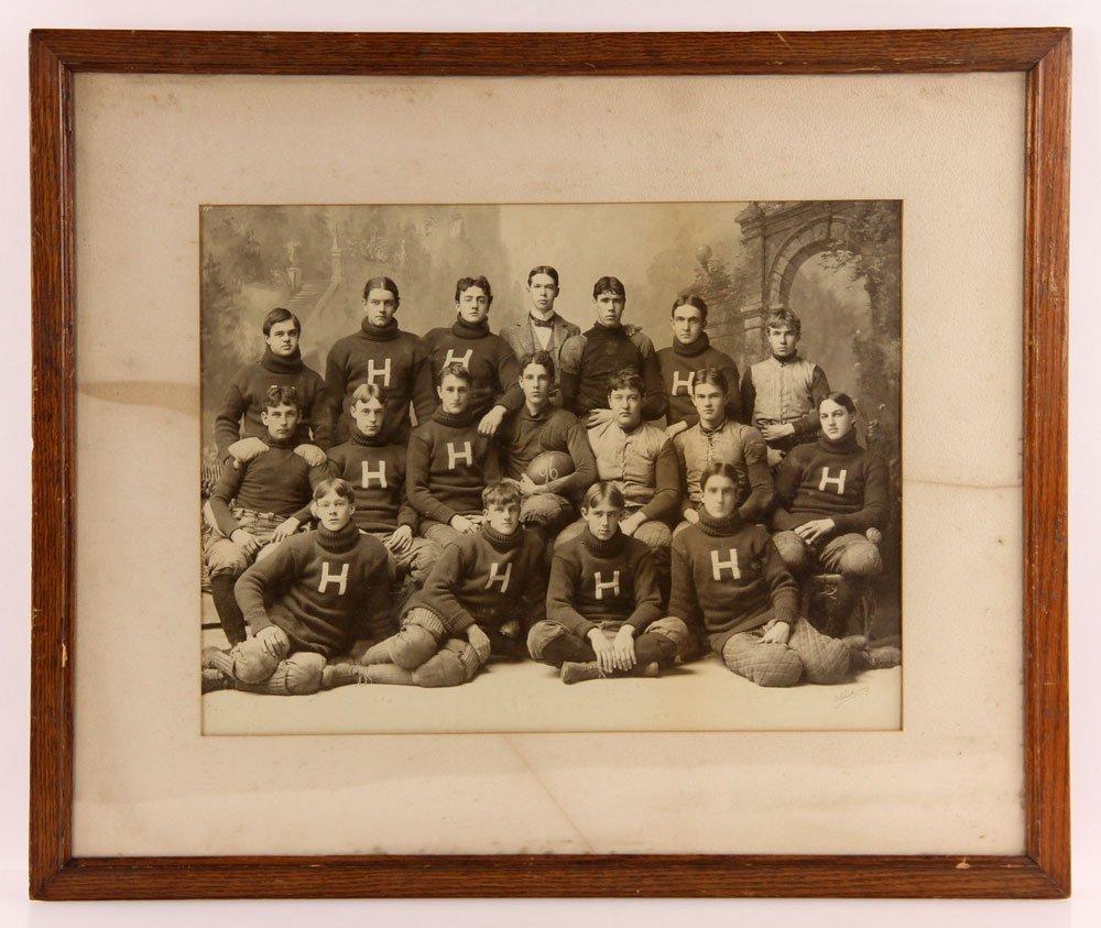 Three Albumen Photographs of Harvard Football Teams - 3