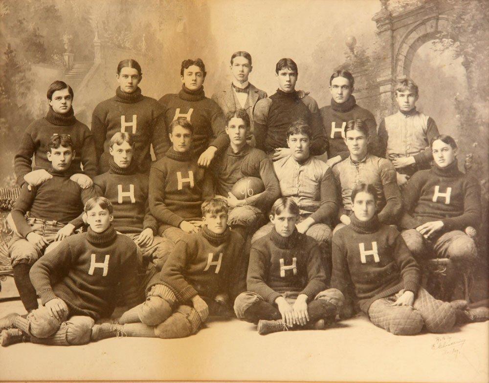 Three Albumen Photographs of Harvard Football Teams - 4